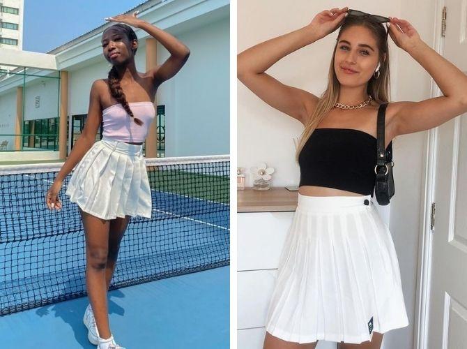 З чим носити тенісну спідницю: стильні варіанти і поєднання 9