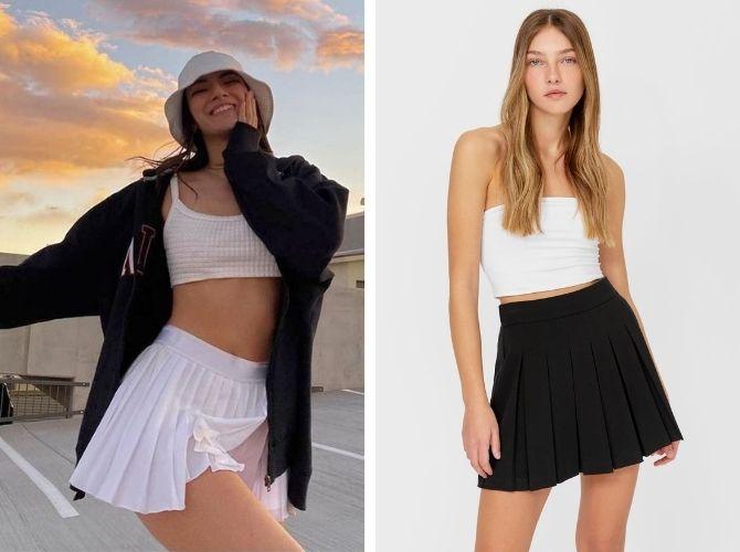 З чим носити тенісну спідницю: стильні варіанти і поєднання 10