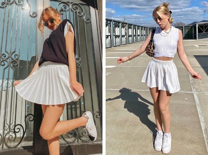 З чим носити тенісну спідницю: стильні варіанти і поєднання 13