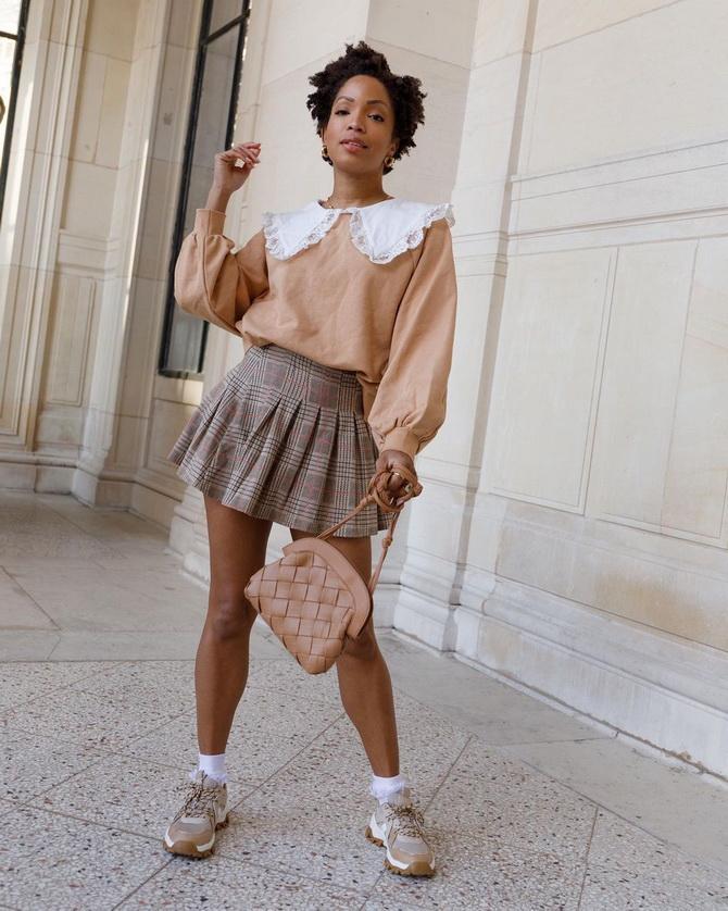 З чим носити тенісну спідницю: стильні варіанти і поєднання 20