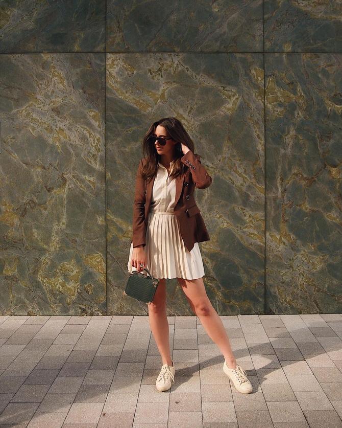 З чим носити тенісну спідницю: стильні варіанти і поєднання 22