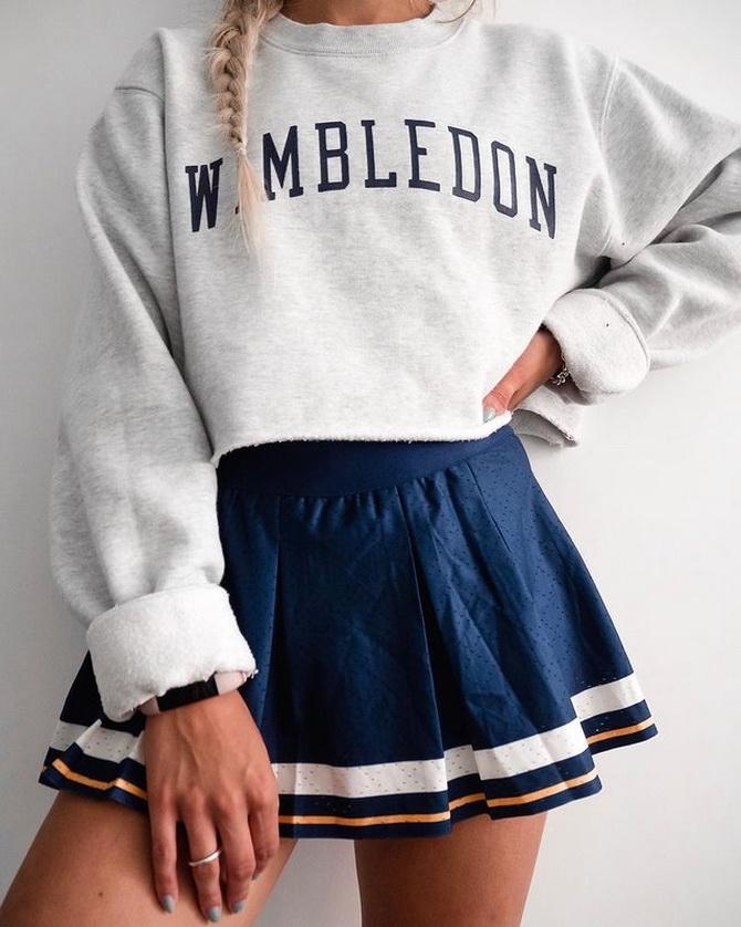 З чим носити тенісну спідницю: стильні варіанти і поєднання 15
