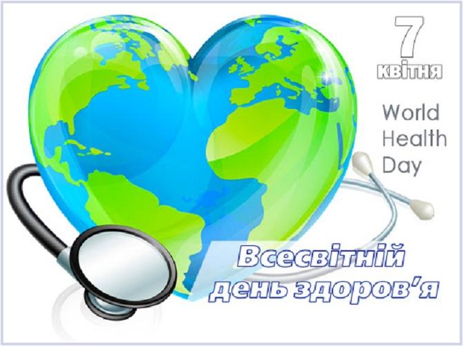 Всесвітній день здоров'я: привітання зі святом 2