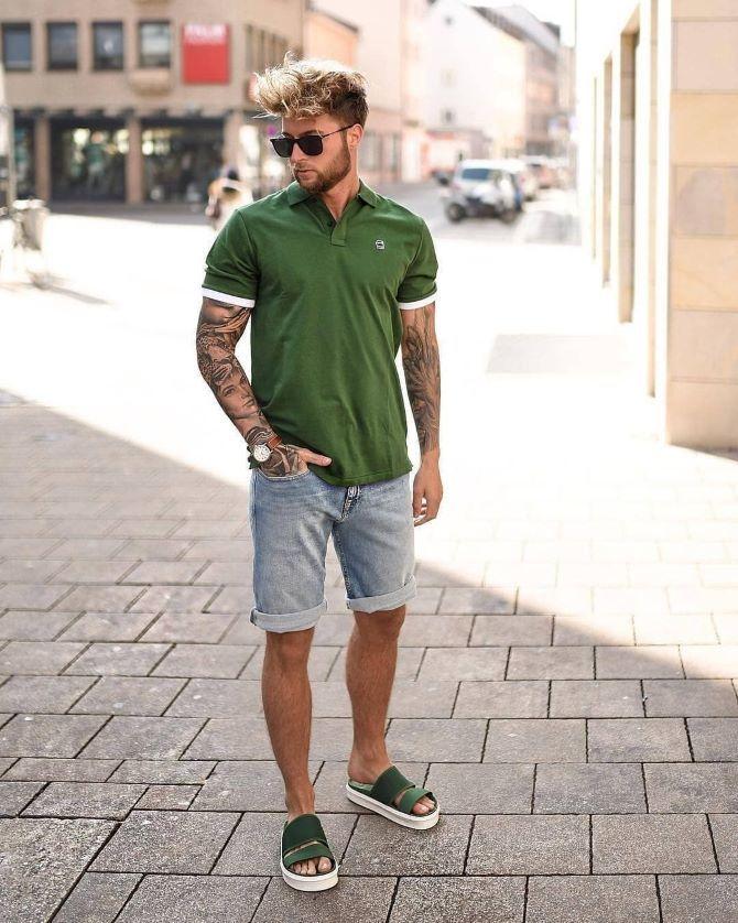 З чим носити чоловічі шорти – поради для стильного хлопця 11