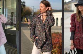 Твідовий жакет – відмінний вибір для модниць