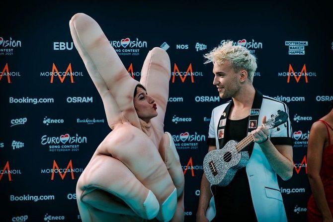 Евровидение 2021: как прошла церемония открытия песенного конкурса? 10