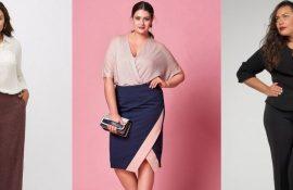 Офисный гардероб для девушек plus size: формируем деловой стиль