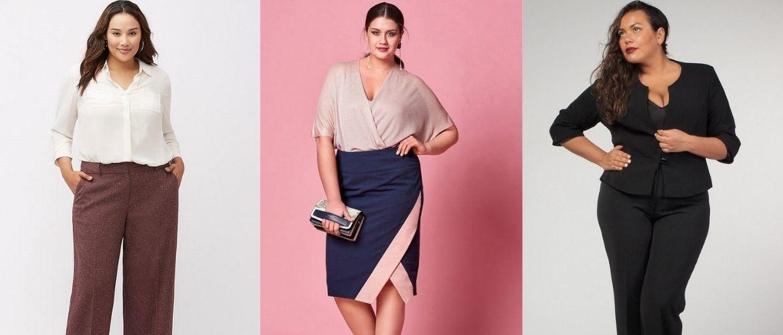 Офісний гардероб для дівчат plus size: формуємо діловий стиль