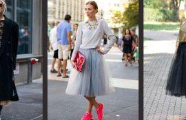 Як правильно носити модні повітряні спідниці після 45 років