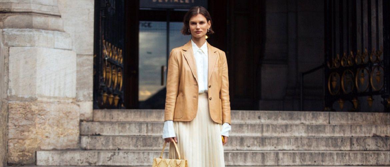 Как носить кожаный жакет – самую модную вещь сезона 2021