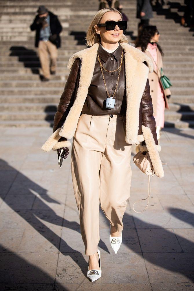 Кожаная рубашка – модная и стильная вещь 2021 года 12