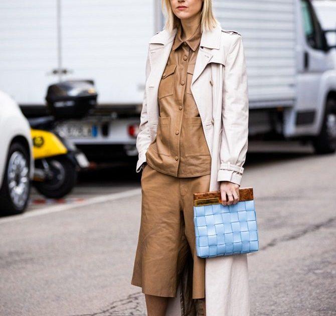Кожаная рубашка – модная и стильная вещь 2021 года 14