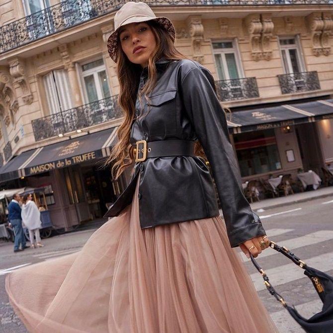 Кожаная рубашка – модная и стильная вещь 2021 года 16