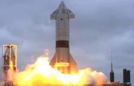 SpaceX впервые успешно испытала корабль Starship для полетов на Марс