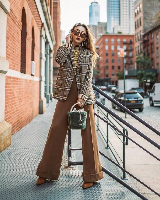 Твидовый жакет – отличный выбор для модниц 8