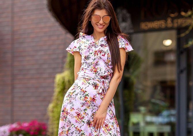 Как носить чайное платье – главный аристократичный тренд лета 5