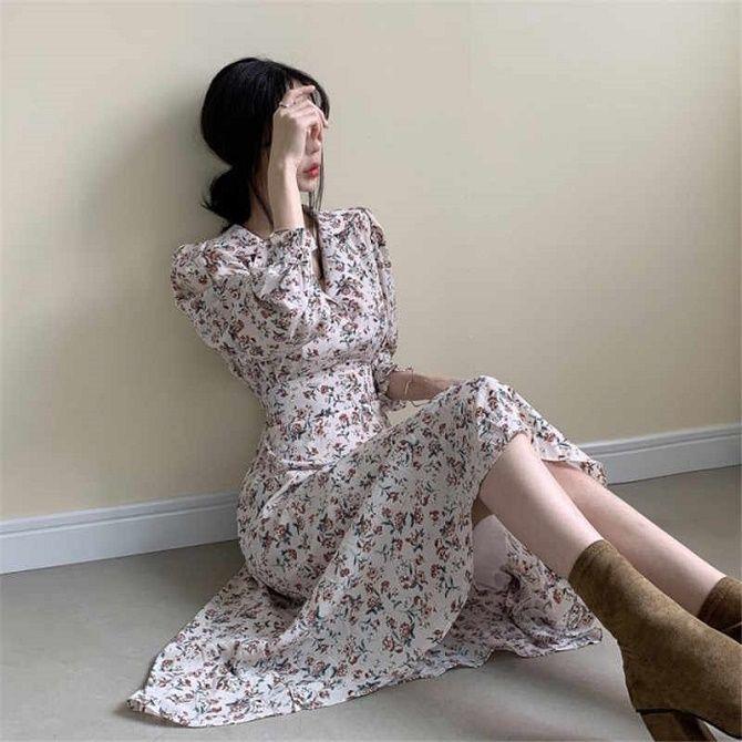 Как носить чайное платье – главный аристократичный тренд лета 8