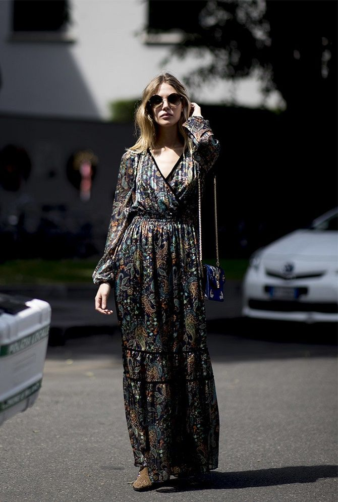 Как носить чайное платье – главный аристократичный тренд лета 9