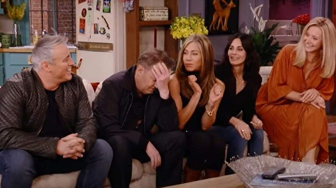 «Друзі» повернулися: як возз'єдналися Рейчел, Моніка, Фібі, Джоуї, Росс і Чендлер? 2