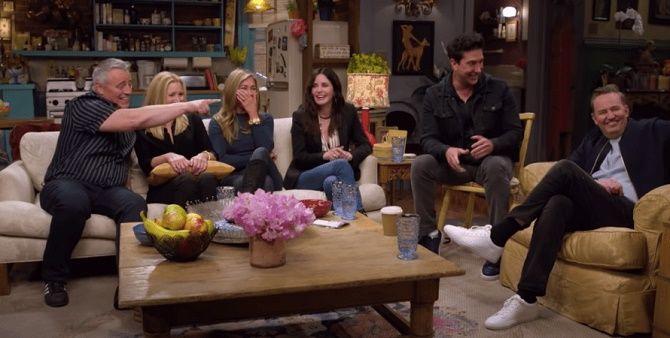 «Друзі» повернулися: як возз'єдналися Рейчел, Моніка, Фібі, Джоуї, Росс і Чендлер? 4