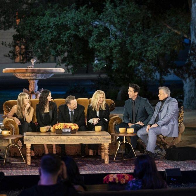 «Друзі» повернулися: як возз'єдналися Рейчел, Моніка, Фібі, Джоуї, Росс і Чендлер? 5