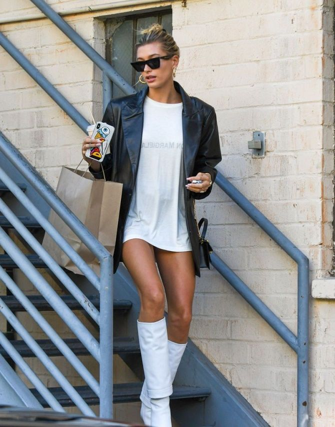 Как носить кожаный жакет – самую модную вещь сезона 2021 16