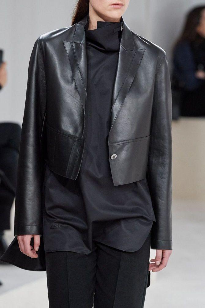 Как носить кожаный жакет – самую модную вещь сезона 2021 5