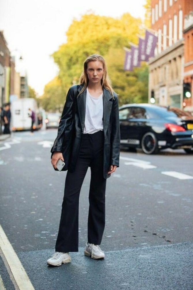 Как носить кожаный жакет – самую модную вещь сезона 2021 7