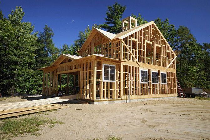Каркасный дом: особенности и нюансы строительства 2