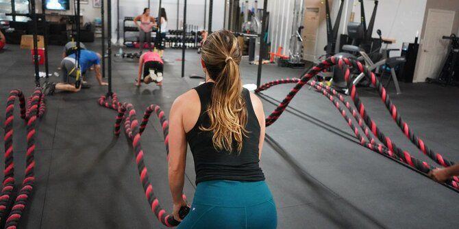 Кроссфит – тренировки для целеустремленных, сильных и красивых женщин 4