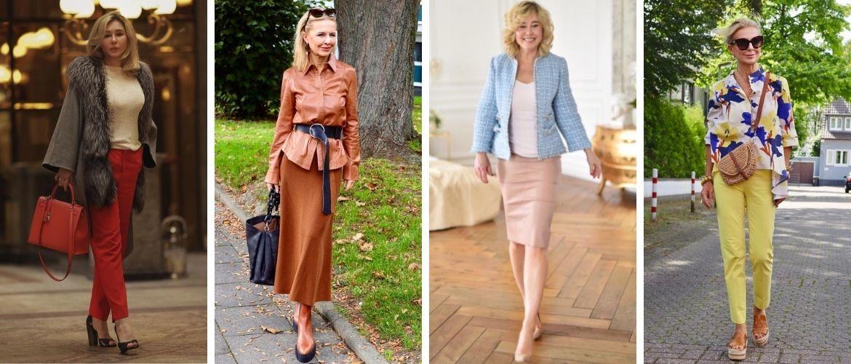 Мода для 40-летних в 2021 году: собираем классический гардероб