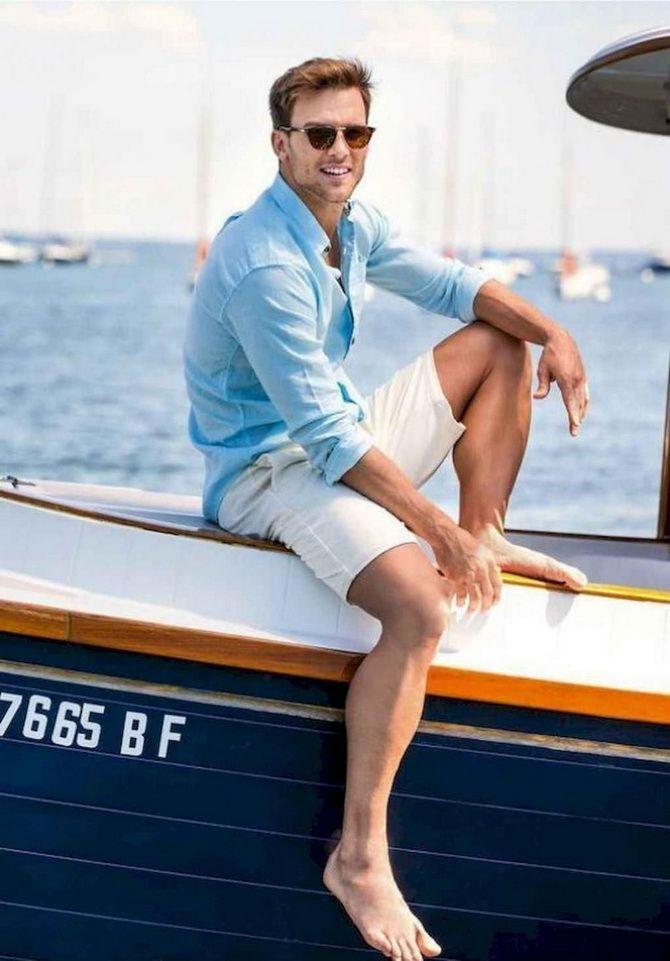 З чим носити чоловічі шорти – поради для стильного хлопця 1