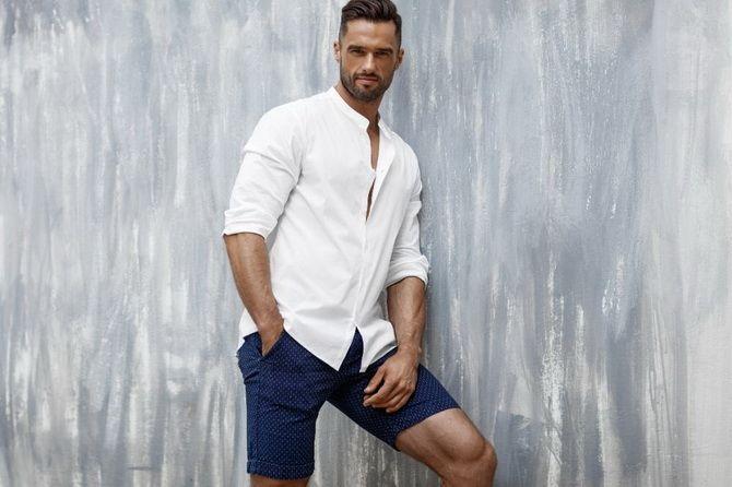 З чим носити чоловічі шорти – поради для стильного хлопця 7