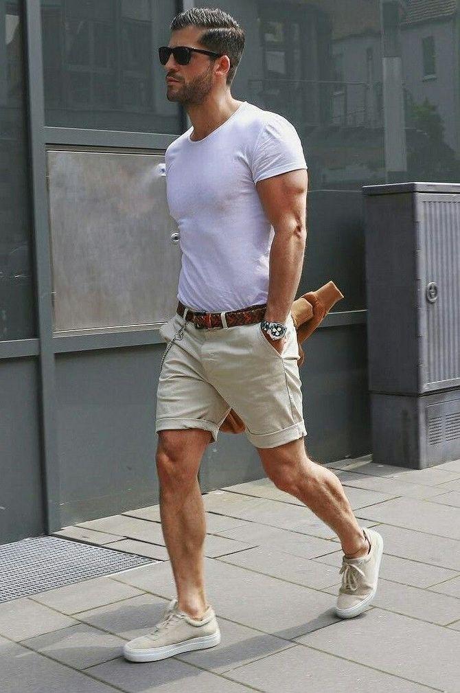 З чим носити чоловічі шорти – поради для стильного хлопця 9
