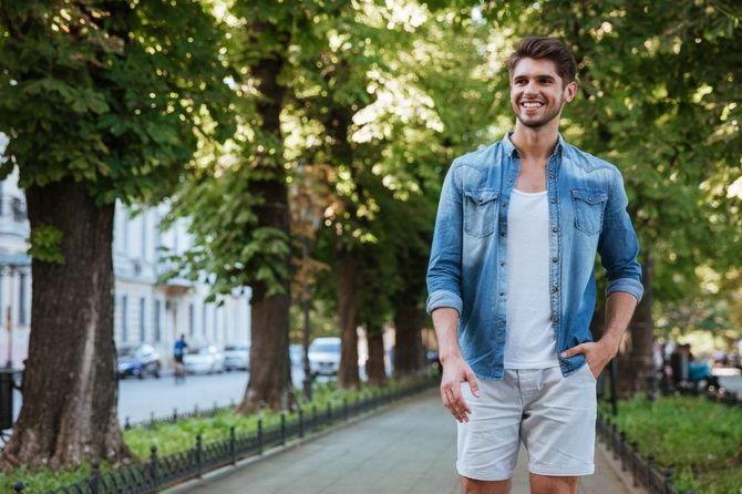 З чим носити чоловічі шорти – поради для стильного хлопця 14