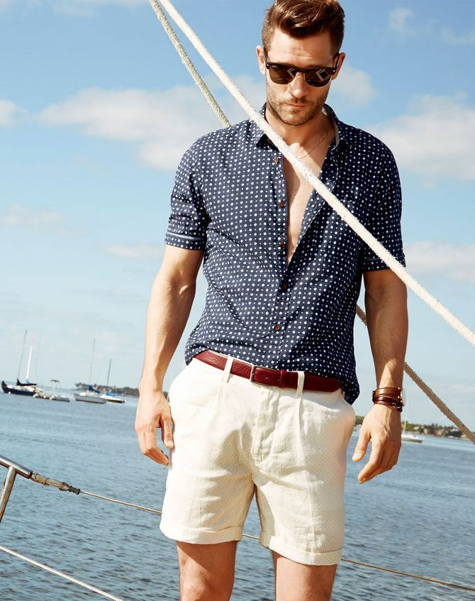 З чим носити чоловічі шорти – поради для стильного хлопця 4