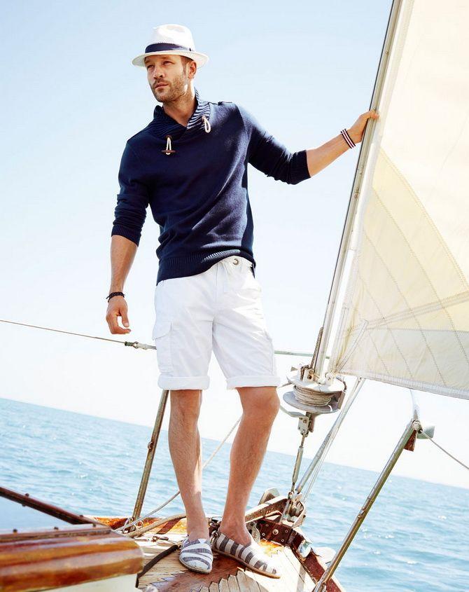 З чим носити чоловічі шорти – поради для стильного хлопця 12