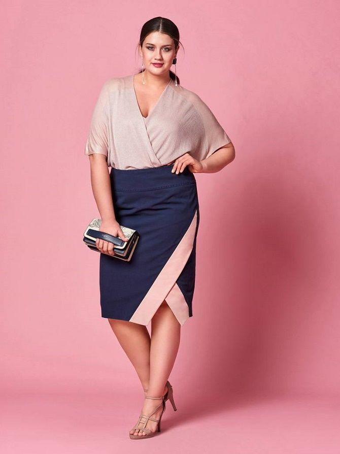 Офисный гардероб для девушек plus size: формируем деловой стиль 11