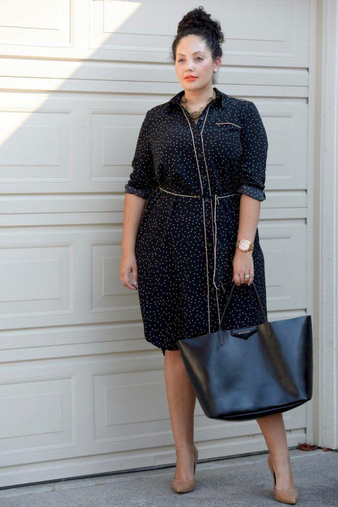 Офисный гардероб для девушек plus size: формируем деловой стиль 3