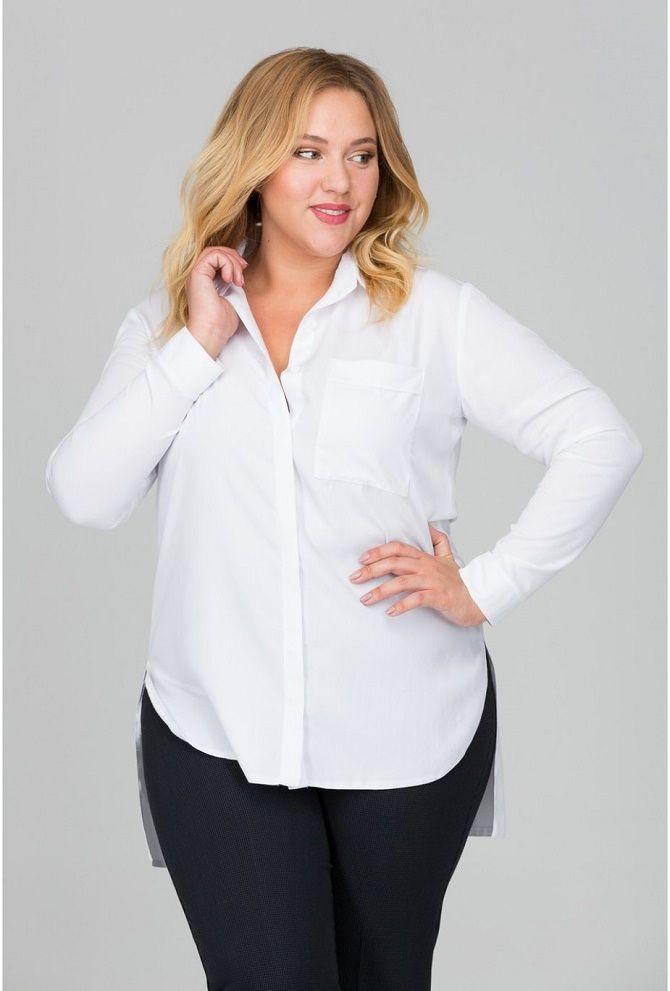 Офисный гардероб для девушек plus size: формируем деловой стиль 5