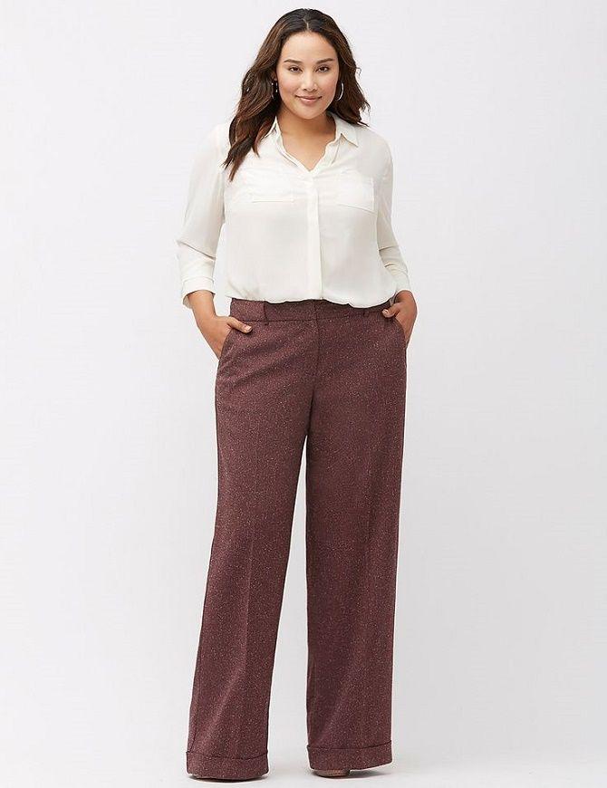 Офисный гардероб для девушек plus size: формируем деловой стиль 6