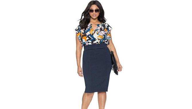 Офисный гардероб для девушек plus size: формируем деловой стиль 9