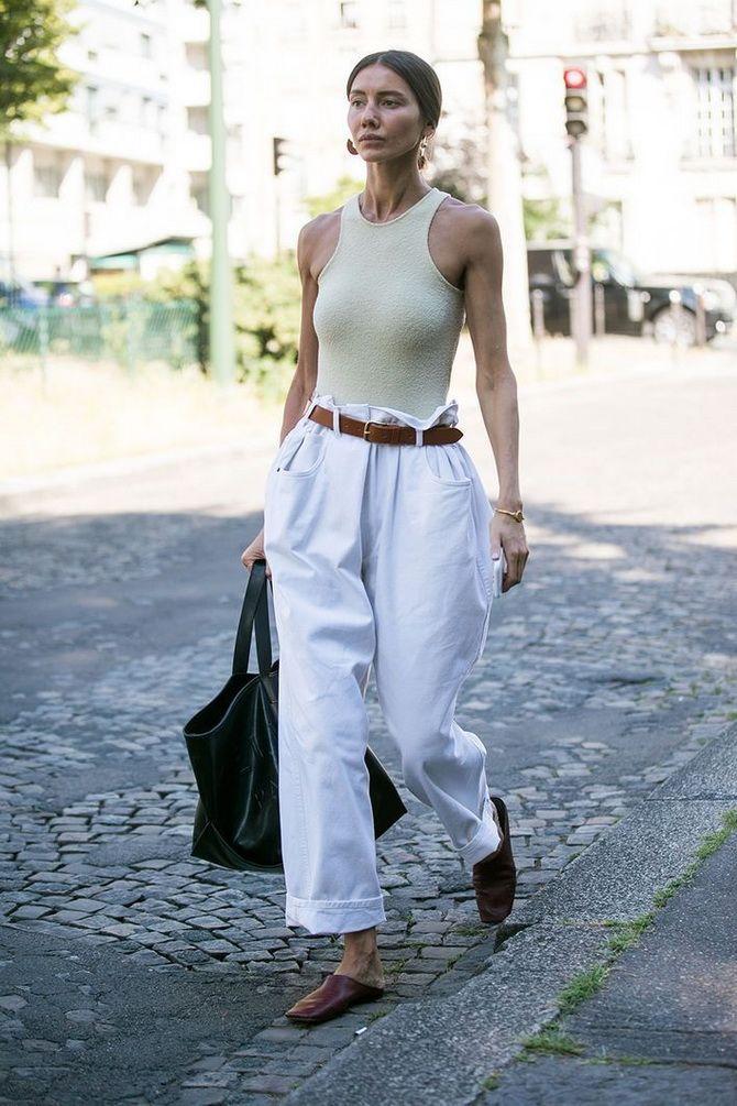 Штани в стилі paperbag: як носити стильний фасон 1