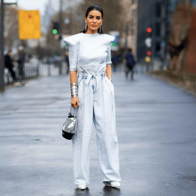 Штани в стилі paperbag: як носити стильний фасон 2
