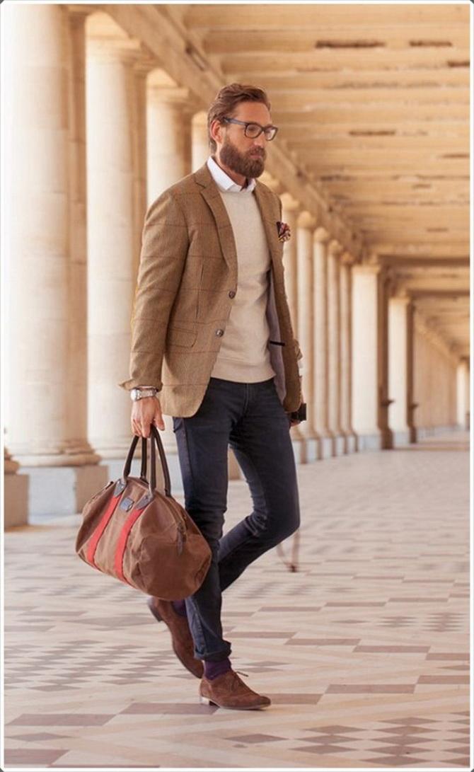 Стиль casual chic для мужчин: как выглядеть элегантно без костюма 3