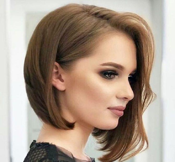 Топ–5 модних стрижок для квадратної форми обличчя 12