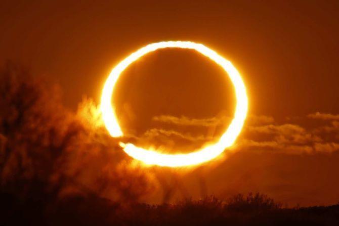 Солнечное затмение 10 июня 2021 года: огненное кольцо 1
