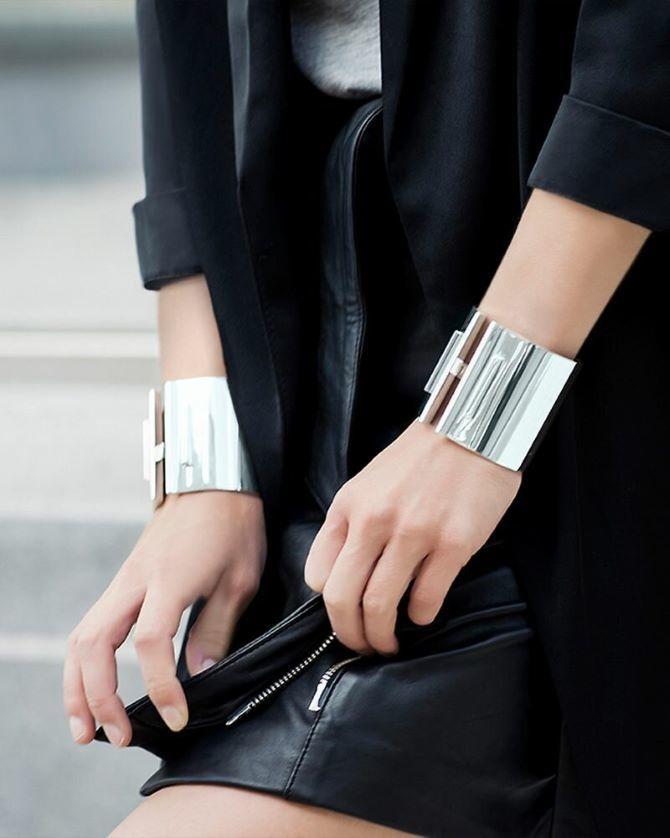 Як носити браслет-манжети 15