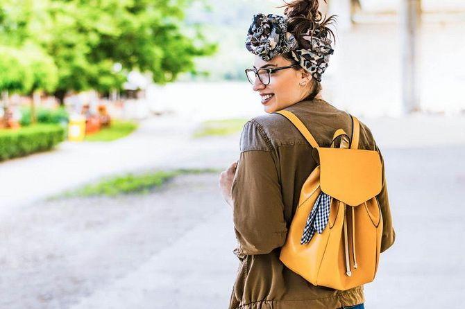 С чем носить женский рюкзак 2