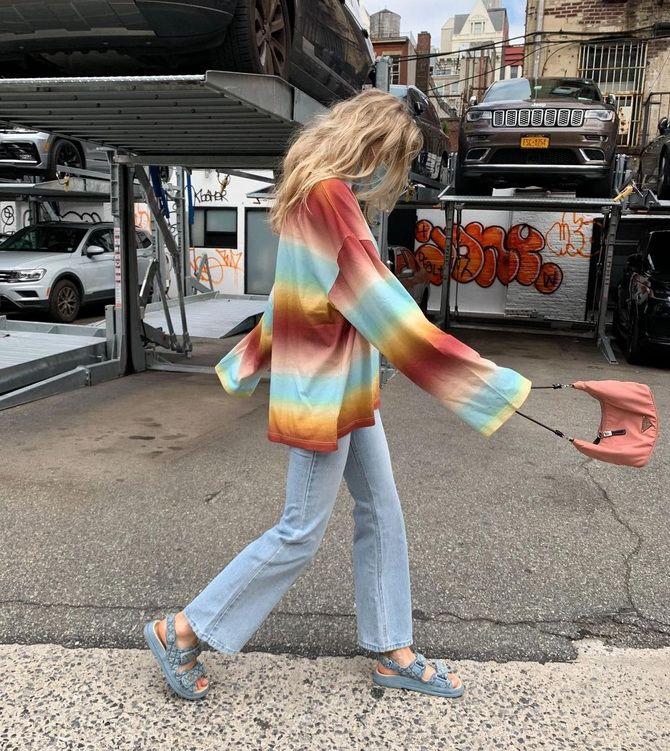 Як носити татові сандалії влітку 2021 14